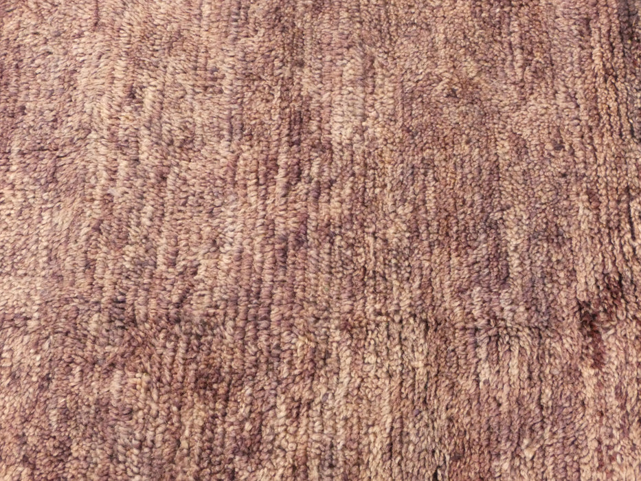Soft Dusky Lilac Colour Moroccan Mrirt Vintage Rug Size: 295 x 268cm-Moroccan Rug-Rugs Direct