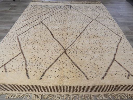 Tribal Moroccan Atlas Rug Beni Ourain Size: 295 x 270m-Moroccan Rug-Rugs Direct