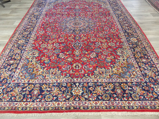 Persian Hand Knotted Najaf Abad Rug Size: 390 x 300cm