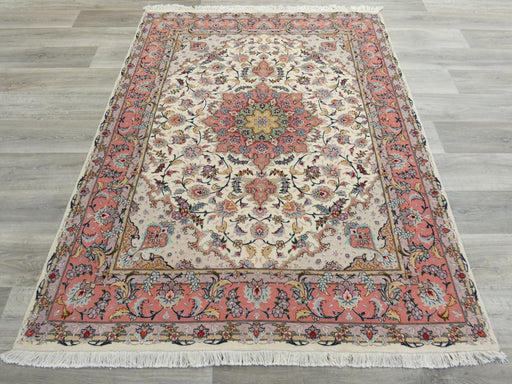 Persian Hand Knotted Tabriz Rug Size: 198 x 155cm
