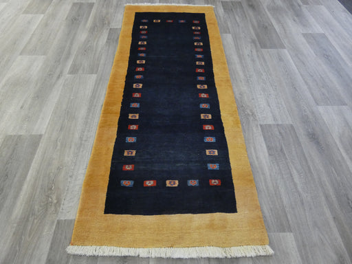 Authentic Persian Hand Knotted Gabbeh Runner Size: 200 x 80cm