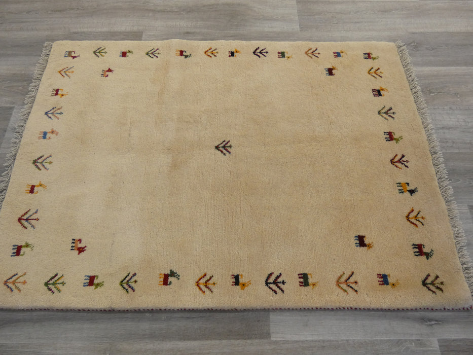 Authentic Persian Hand Knotted Gabbeh Rug Size: 150 x105cm-Persian Gabbeh Rug-Rugs Direct