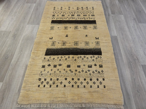 Authentic Persian Hand Knotted Gabbeh Rug Size: 172 x 105cm