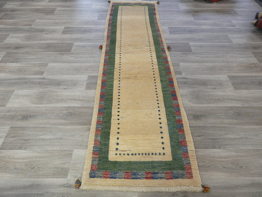 Authentic Persian Hand Knotted Gabbeh Runner Size: 289 x 80cm-Persian Gabbeh Rug-Rugs Direct