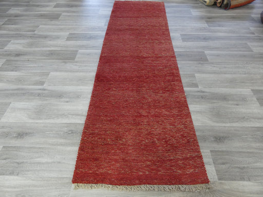 Authentic Persian Hand Knotted Gabbeh Runner Size: 298 x 87cm-Persian Gabbeh Rug-Rugs Direct