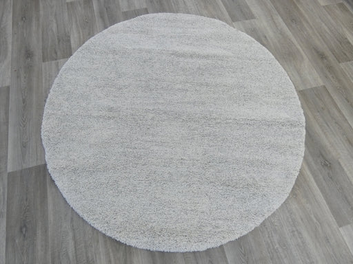 Short Pile Round Shaggy Rug Size: 160 x 160cm-Round Rug-Rugs Direct