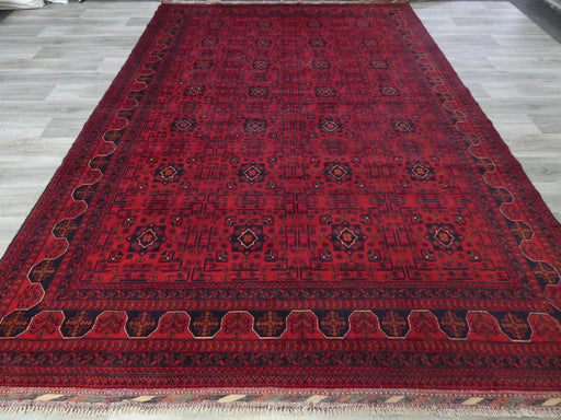 Afghan Hand Knotted Khal Mohammadi Rug Size: 348 x 247cm