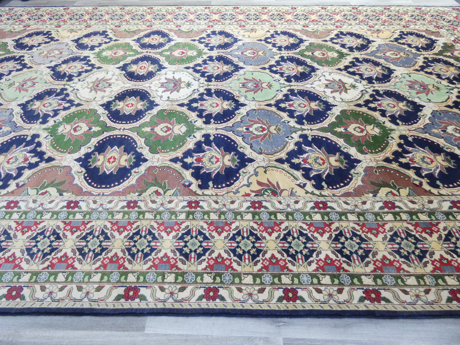Afghan Hand Knotted Khal Mohammadi Oversized Rug Size: 596 x 300cm-Oversized rug-Rugs Direct