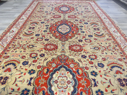 Afghan Hand Knotted Khal Mohammadi Oversized Rug Size: 483 x 293cm-Oversized rug-Rugs Direct