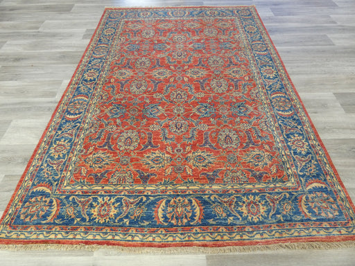 Afghan Hand Knotted Kazak Rug Size: 242 x 167cm