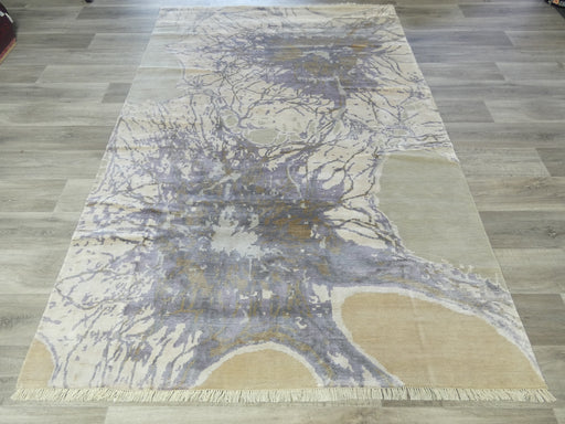 Bamboo Silk Hand Knotted Modern Design Rug Size: 185 x 270cm-Bamboo Silk-Rugs Direct