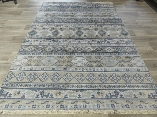 Bamboo Silk Hand Knotted Aztec Design Rug Size: 205 x 288cm
