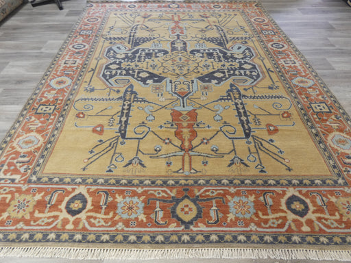 Hand Knotted Oushak Rug Size: 240 x 305cm