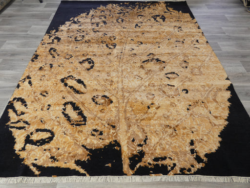 Bamboo Silk & NZ Wool Hand Knotted Golden Tree Design Rug Size: 236 x 299cm