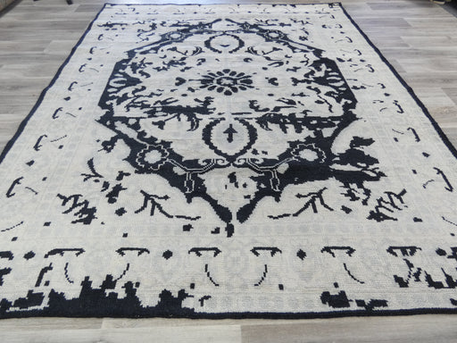 NZ Wool Hand Knotted Vintage Design Rug Size: 246 x 295cm-Vintage Rug-Rugs Direct