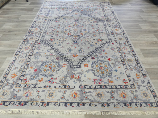 NZ Wool Hand Knotted Vintage Design Rug Size: 201 x 307cm