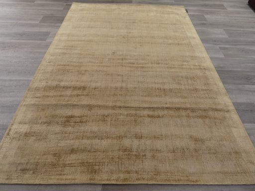 Temple Colour Hand Loomed Bamboo Silk Look Rug