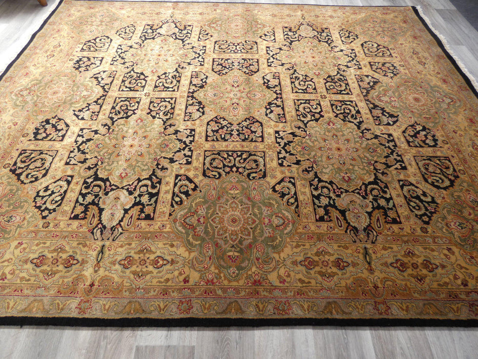 Hand Knotted Jaipur Indian Made Rug Size: 246 x 300cm-Jaipur Rug-Rugs Direct