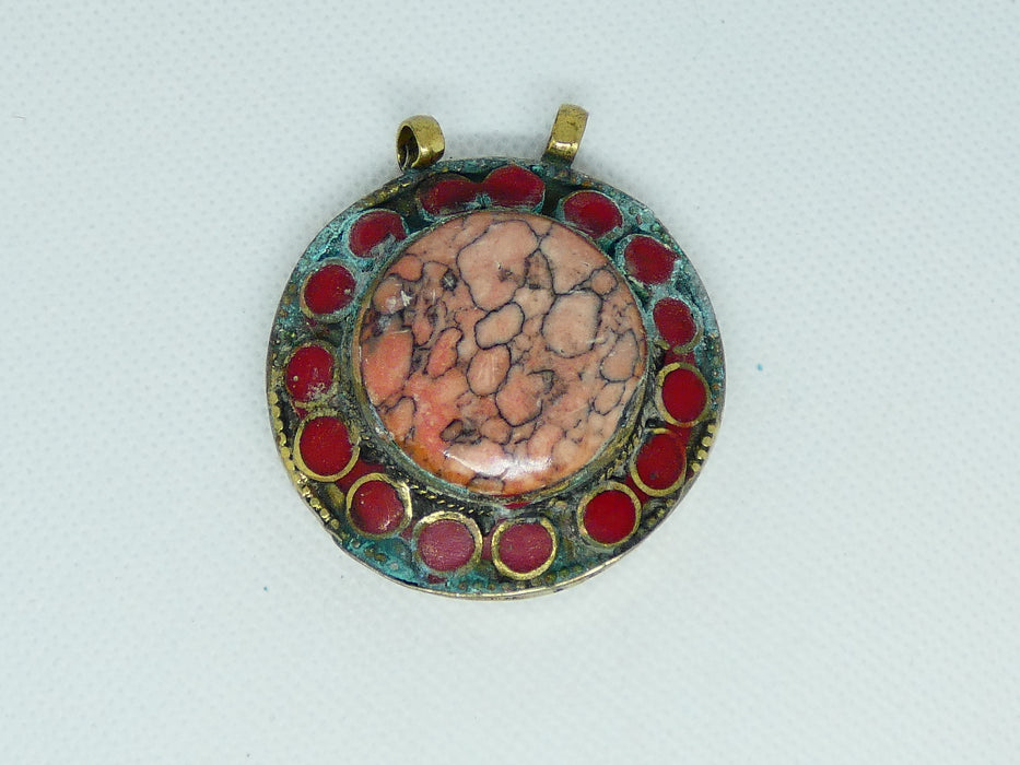 Afghan Kuchi Pendant, Handmade and Traditional