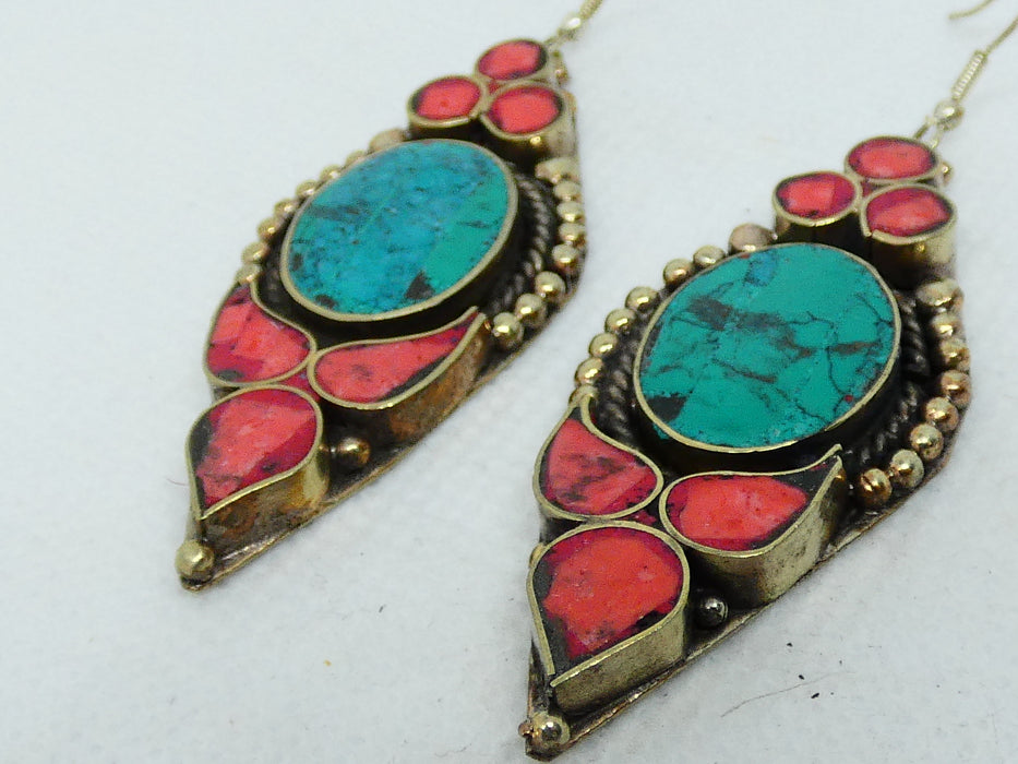 Nepalese Earring, Handmade and Traditional