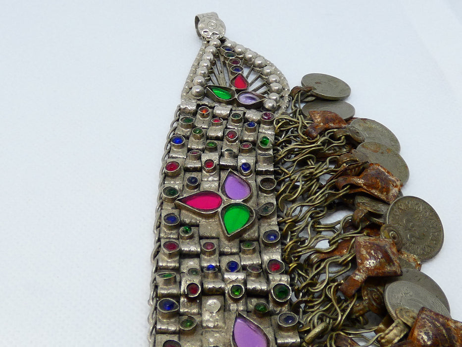 Afghan Kuchi Necklace, Handmade and Traditional