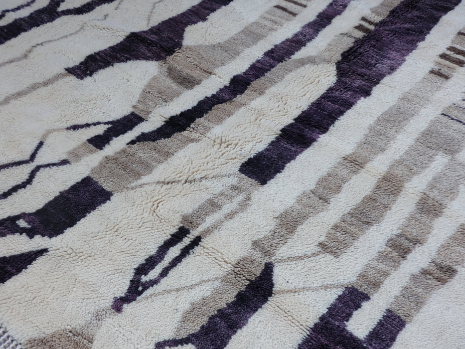 Beni Ourain Moroccan Berber Handmade Rug Size: 300 x 231cm