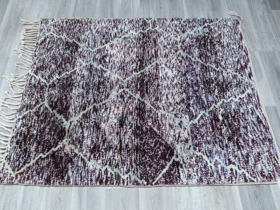 Mrirt Berber, Perfect Design Woollen Rug, Beautiful Moroccan Rug Size: 170 x 134cm