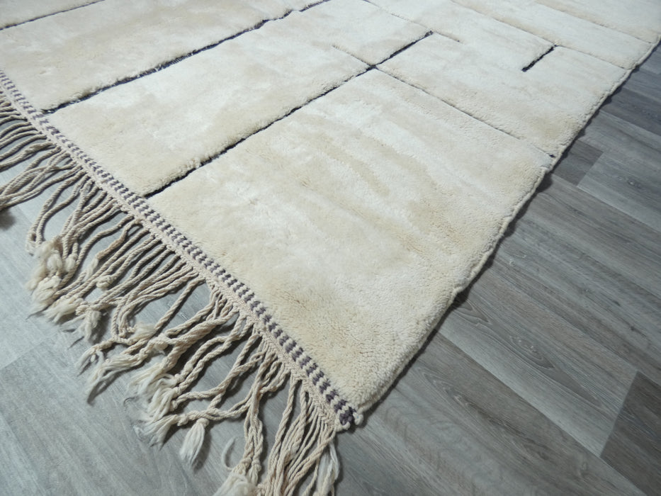 Beni Ourain Moroccan Berber Handmade Rug Size: 340 x 252cm