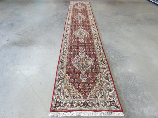 NZ Wool Hand Made Mahi Design Hallway Runner Size: 416 x 81cm