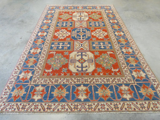 Afghan Hand Knotted Kazak Rug Size: 223 x 320cm