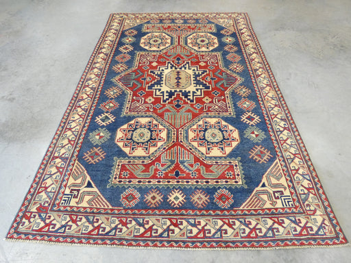 Afghan Hand Knotted Kazak Rug Size: 175 x 269cm