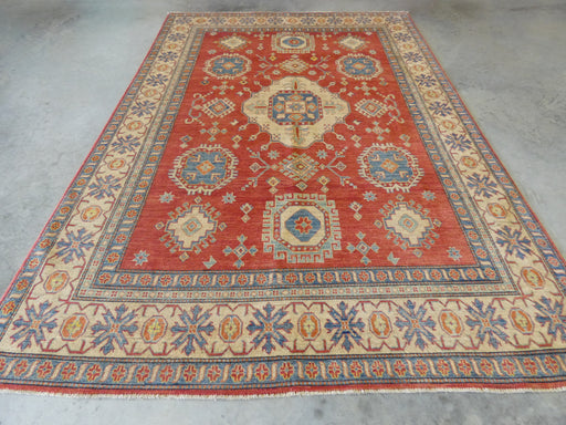 Afghan Hand Knotted Kazak Rug Size: 217 x 311cm