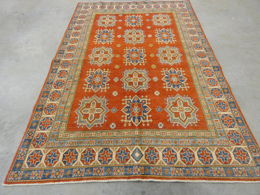 Afghan Hand Knotted Kazak Rug Size: 185 x 267cm