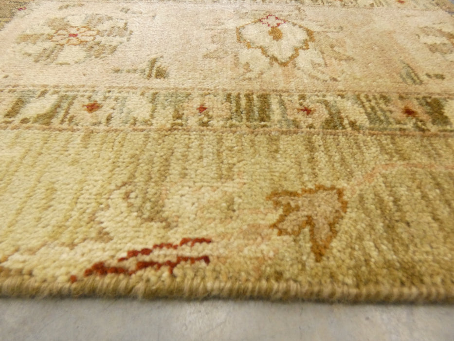 Hand Knotted Patchwork Design NZ Wool Rug Size: 154 x 244cm