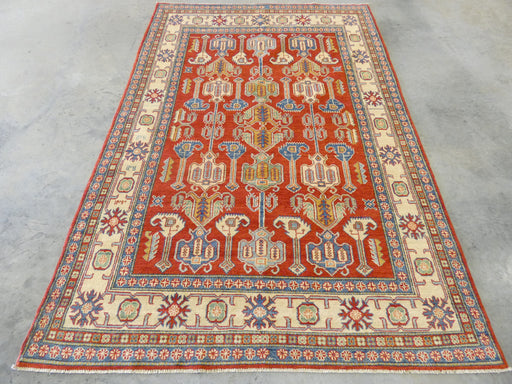 Afghan Hand Knotted Kazak Rug Size: 177 x 259cm