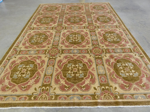 Afghan Hand Knotted Choubi Rug Size: 275 x 366cm