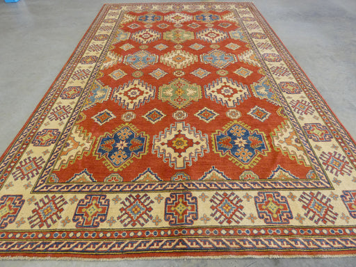 Afghan Hand Knotted Kazak Rug Size: 252 x 384cm