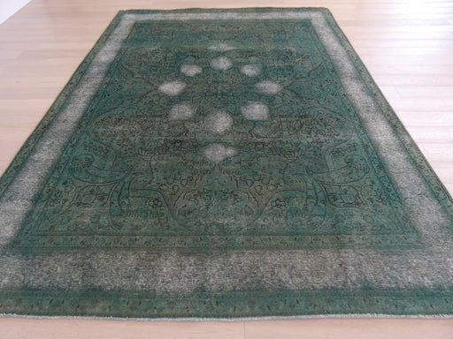 Persian Hand Knotted Vintage Overdyed Rug Size: 290 x 385cm