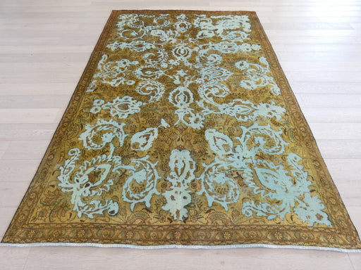 Persian Hand Knotted Vintage Overdyed Rug Size: 219 x 326cm