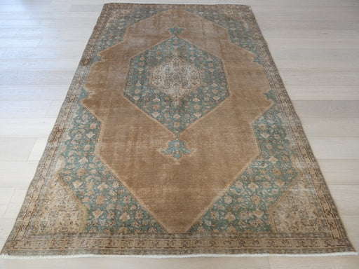 Persian Hand Knotted Vintage Overdyed Rug Size: 188 x 284cm