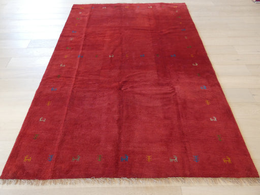 Authentic Persian Hand Knotted Gabbeh Rug Size: 203 x 285cm