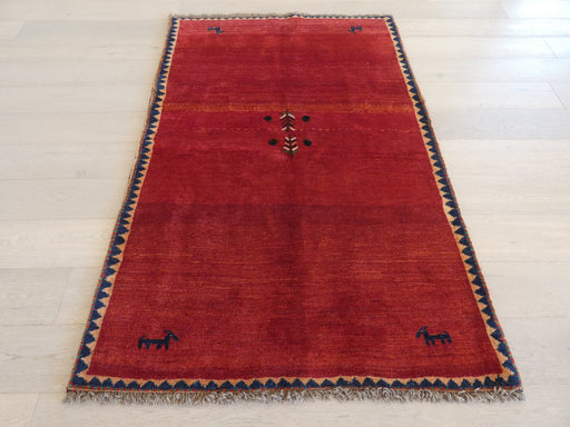 Authentic Persian Hand Knotted Gabbeh Rug Size: 125 x 189cm