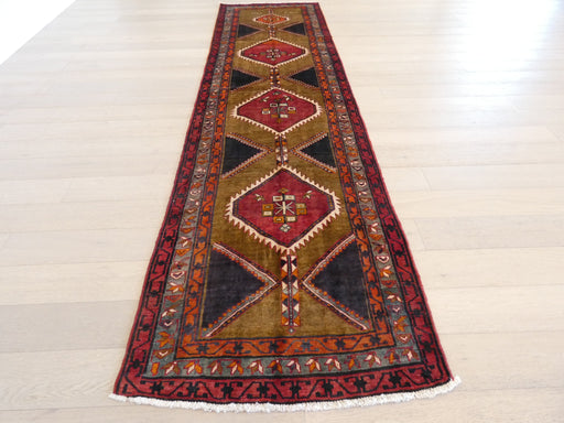 Persian Hand Knotted Dated Ardabil Hallway Runner Size: 112 x 405cm