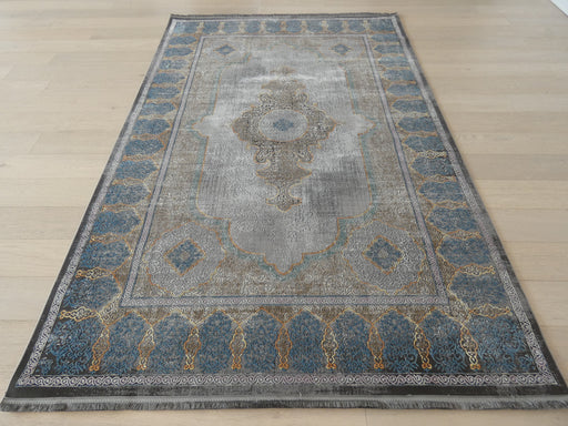 Distressed Traditional Vintage Design Rug