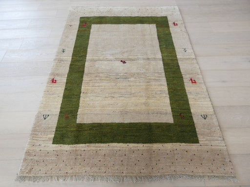 Authentic Persian Hand Knotted Gabbeh Rug Size: 145 x 201cm