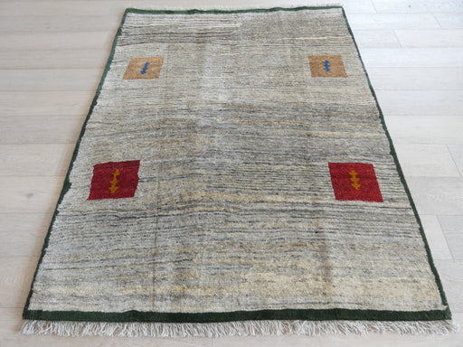 Authentic Persian Hand Knotted Gabbeh Rug Size: 156 x 195cm