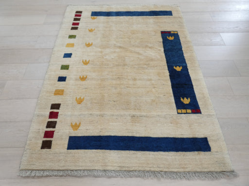 Authentic Persian Hand Knotted Gabbeh Rug Size: 189 x 136cm