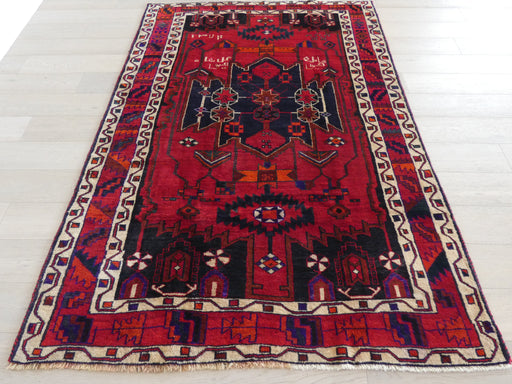 Persian Hand Knotted Luri Rug Size: 165 x 241cm