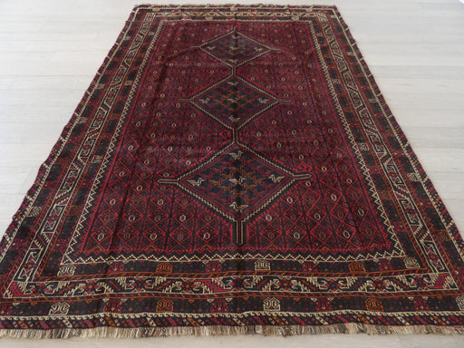 Persian Hand Knotted Shiraz Rug Size: 216 x 311cm
