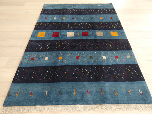 Authentic Persian Hand Knotted Gabbeh Rug Size: 223 x 165cm